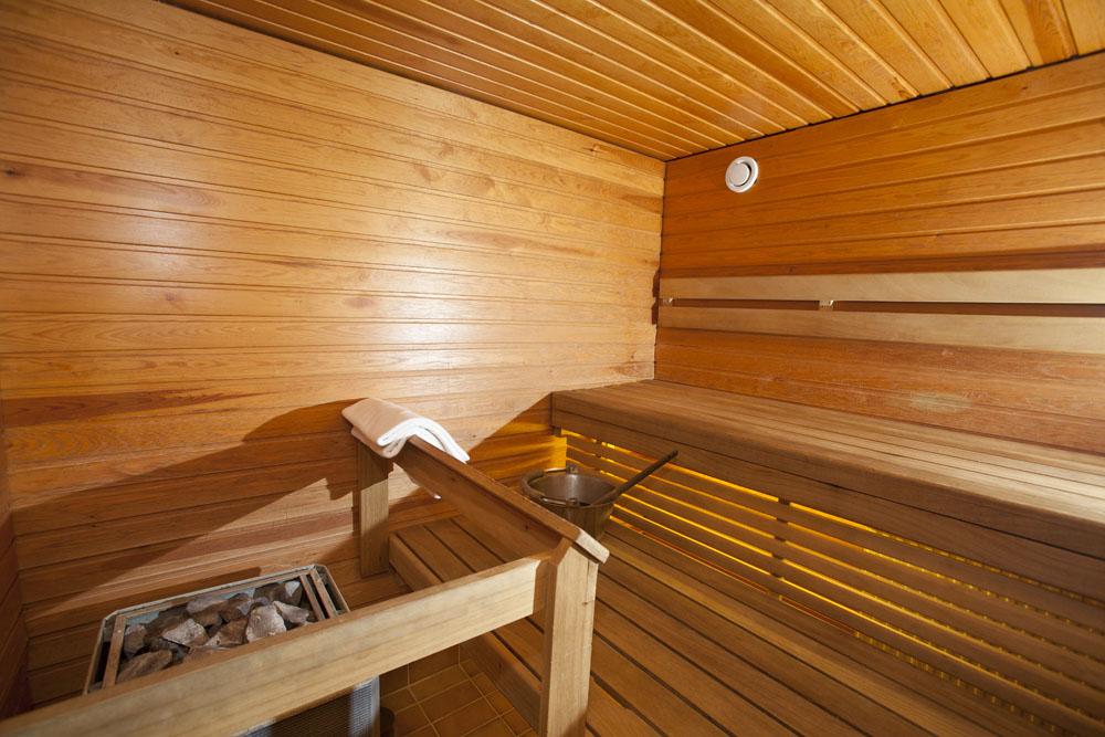 Sauna Of Hotel Aakenus Rovaniemi
