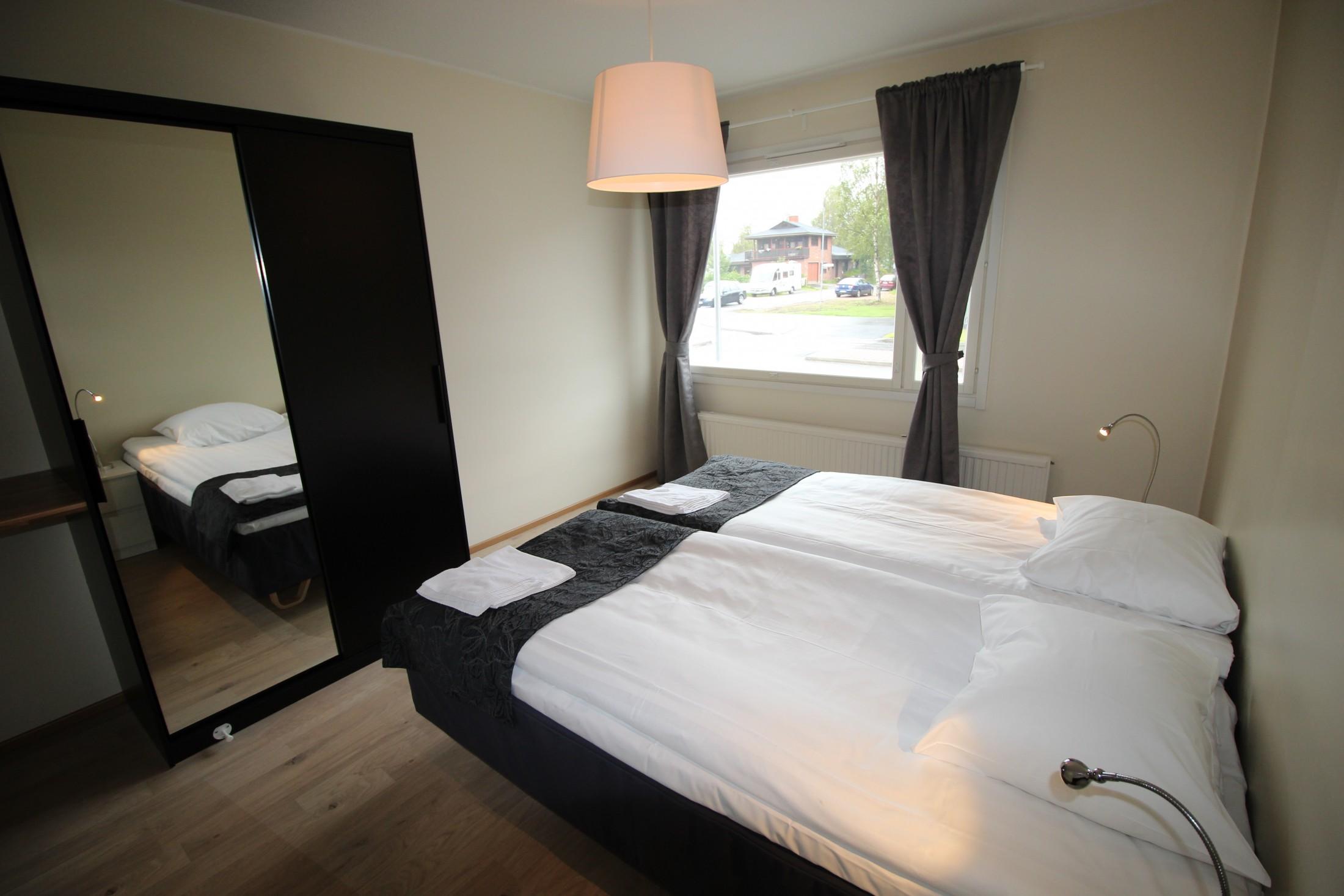 2 Bed Bedroom three bed rooms apartment koski - hotel aakenus rovaniemi in