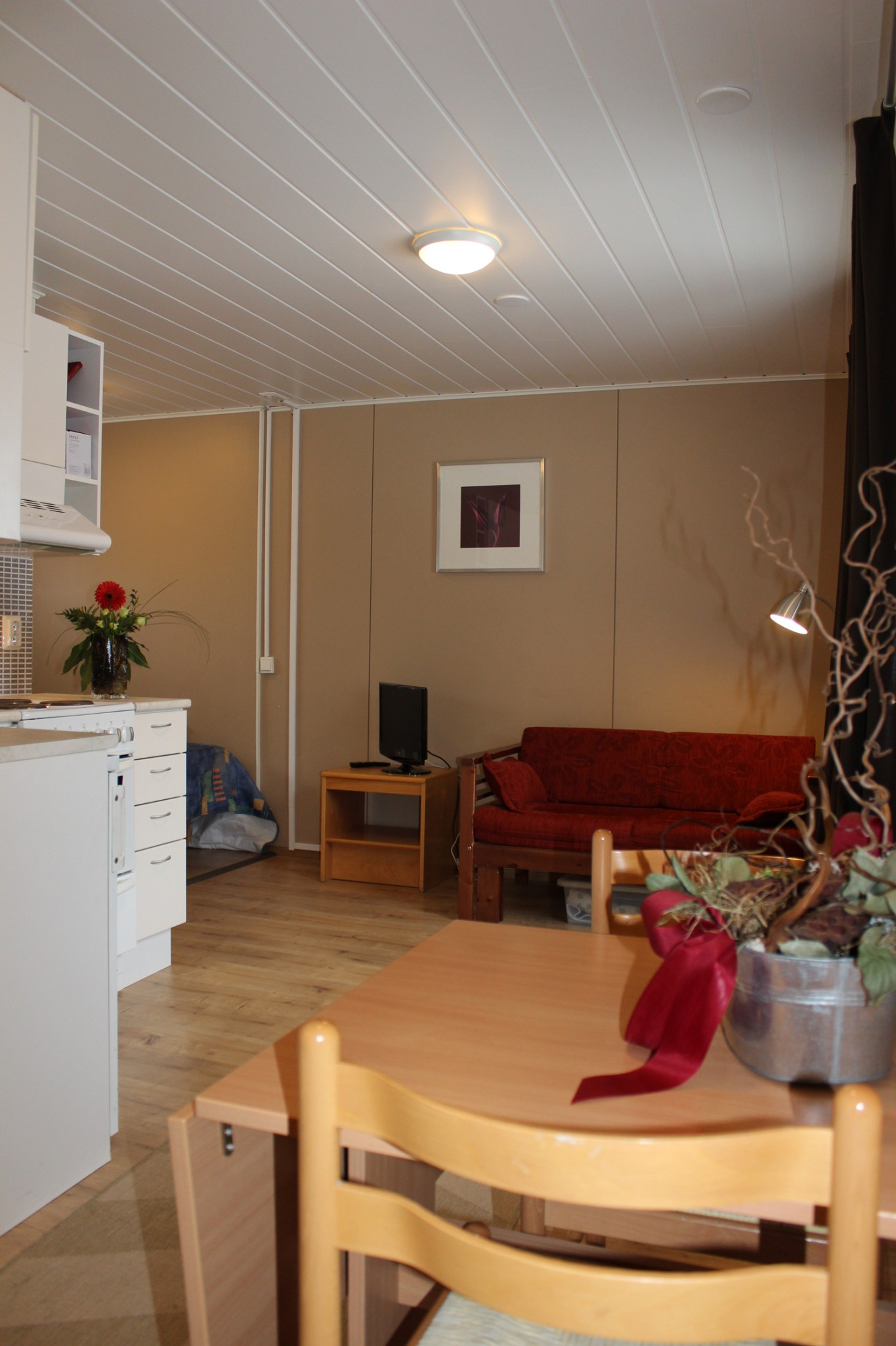 Installation of the sauna in the apartment